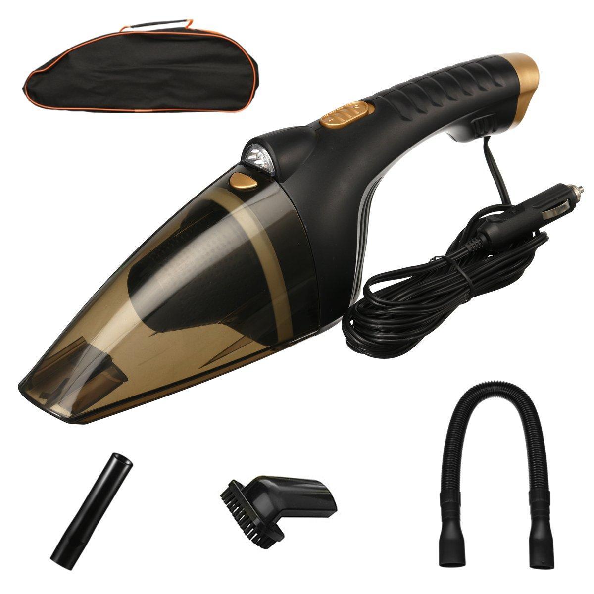 12V 72W Handheld Auto Van Caravan Vacuum Cleaner Portable Car Wet & Dry Duster