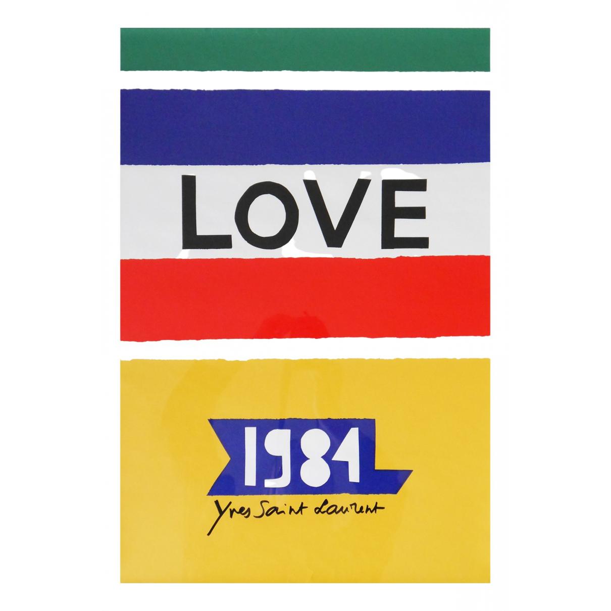 Yves Saint Laurent - Objets & Deco   pour lifestyle en coton - multicolore