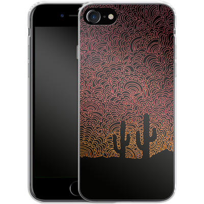 Apple iPhone 8 Silikon Handyhuelle - Arizona von Kaitlyn Parker