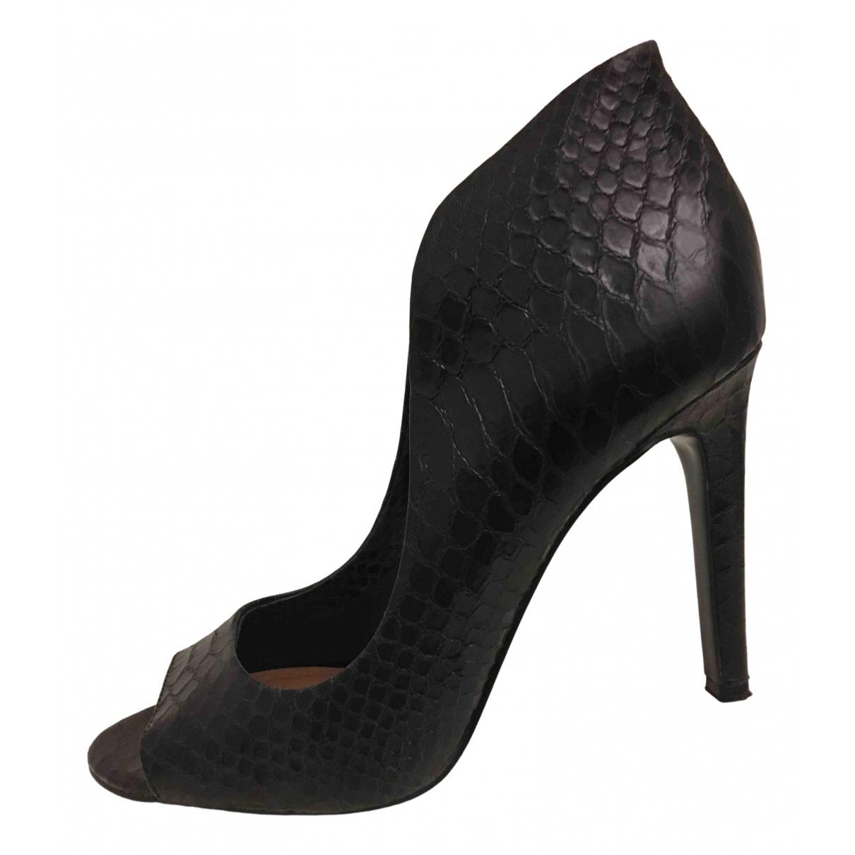Vince Camuto - Escarpins   pour femme en cuir - noir
