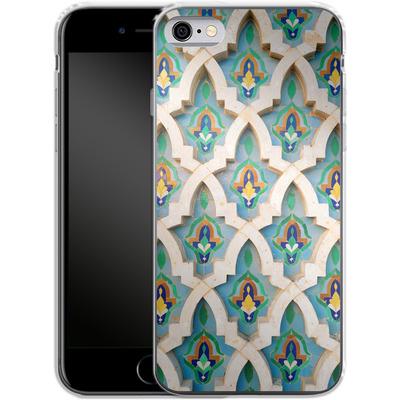Apple iPhone 6 Silikon Handyhuelle - Moroccan Mosaic von Omid Scheybani
