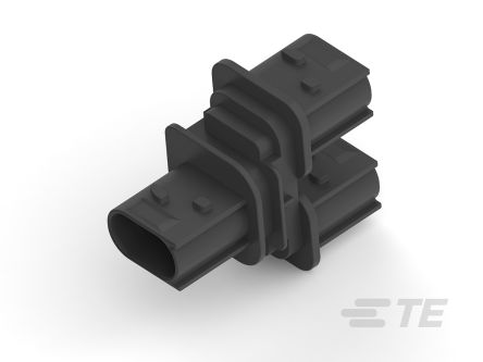 TE Connectivity Housing for use with HDSCS CAN Bus Y-CONNECTOR (250)