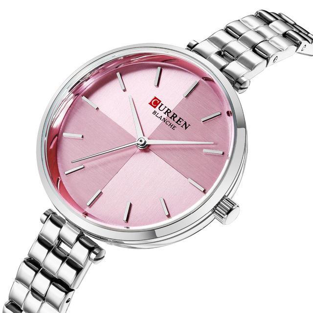 CURREN 9043 Simple Style Stainless Steel Ladies Wrist Watch