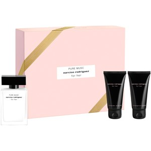Narciso Rodriguez for her Geschenkset Eau de Parfum Spray Pure Musc 50 ml + Body Lotion 50 ml + Shower Gel 50 1 Stk.