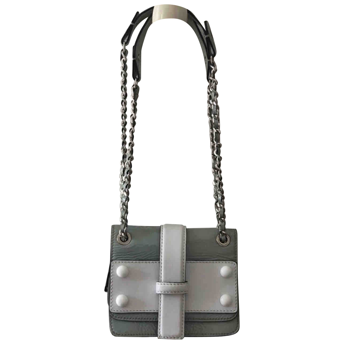 Tara Jarmon \N Green Leather handbag for Women \N