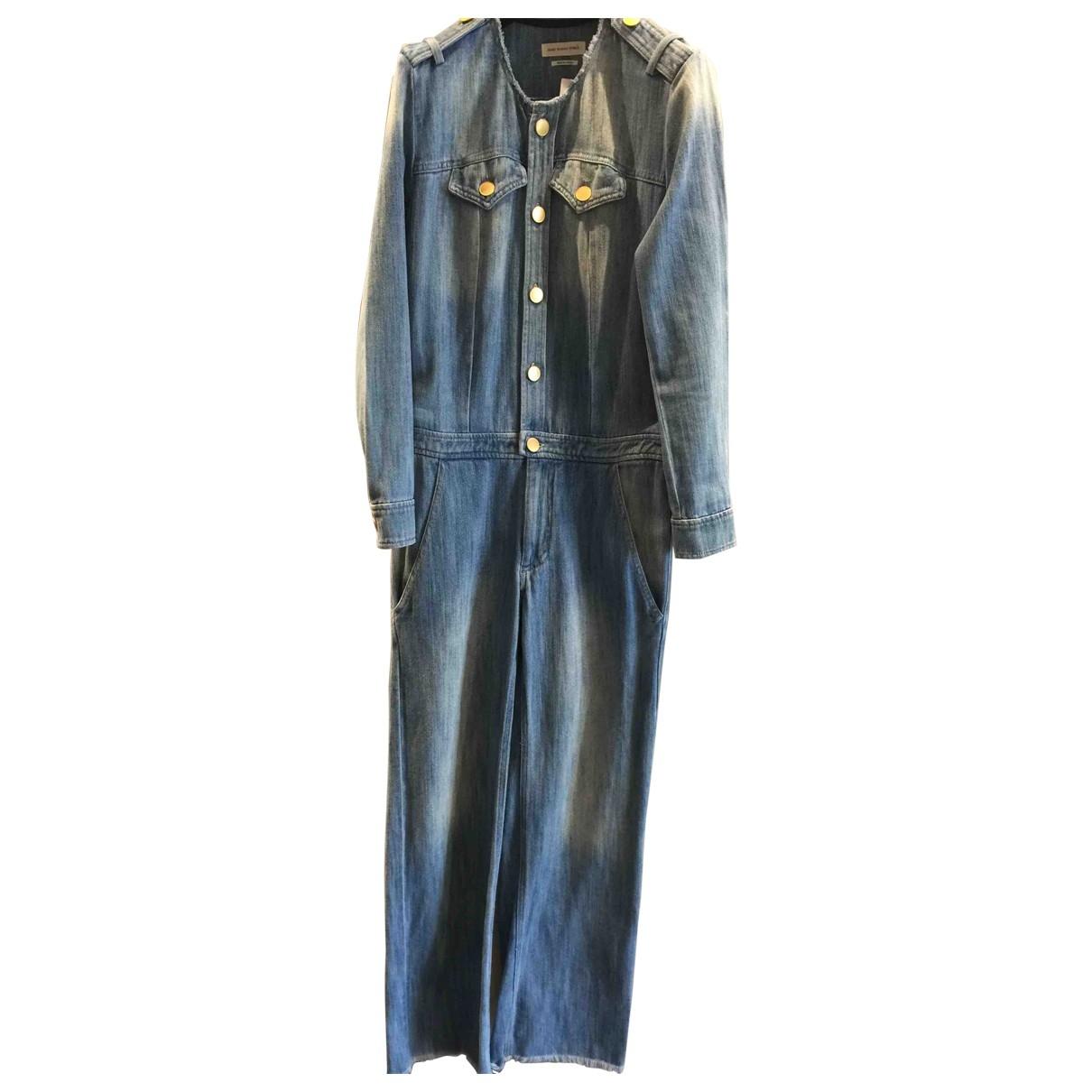 Isabel Marant Etoile - Combinaison   pour femme en denim - bleu