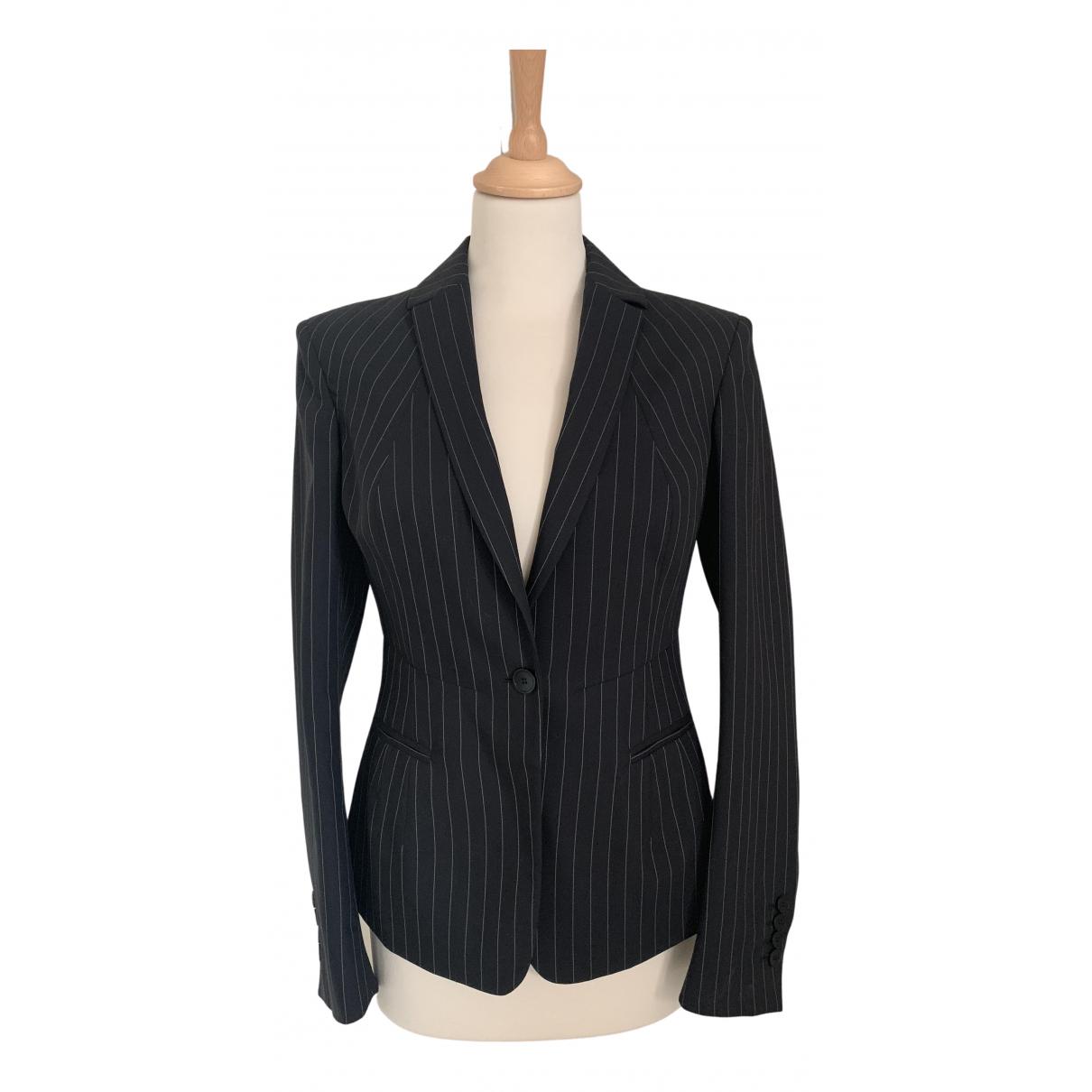 Calvin Klein - Veste   pour femme en laine - noir