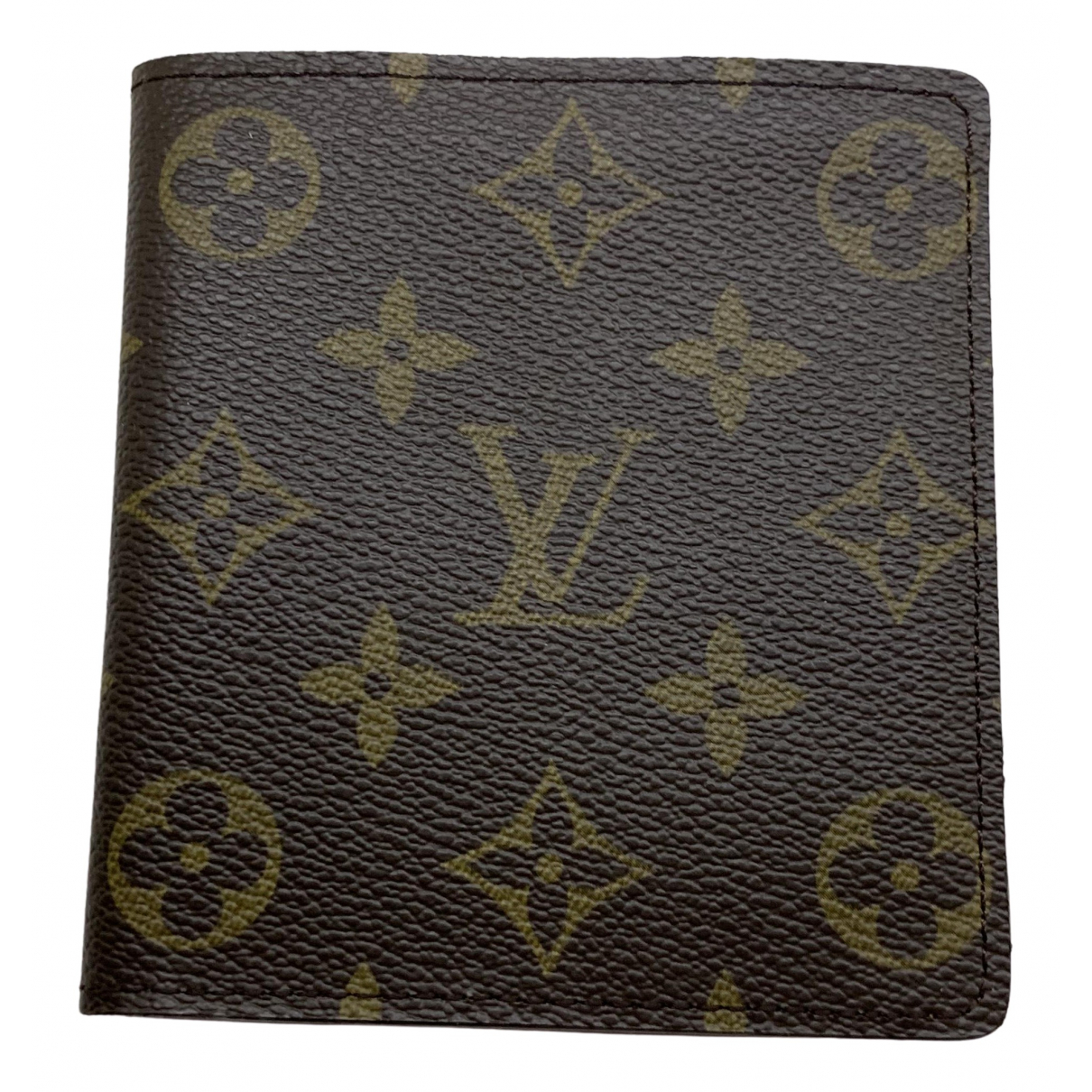 Louis Vuitton Marco Brown Cloth Small bag, wallet & cases for Men \N