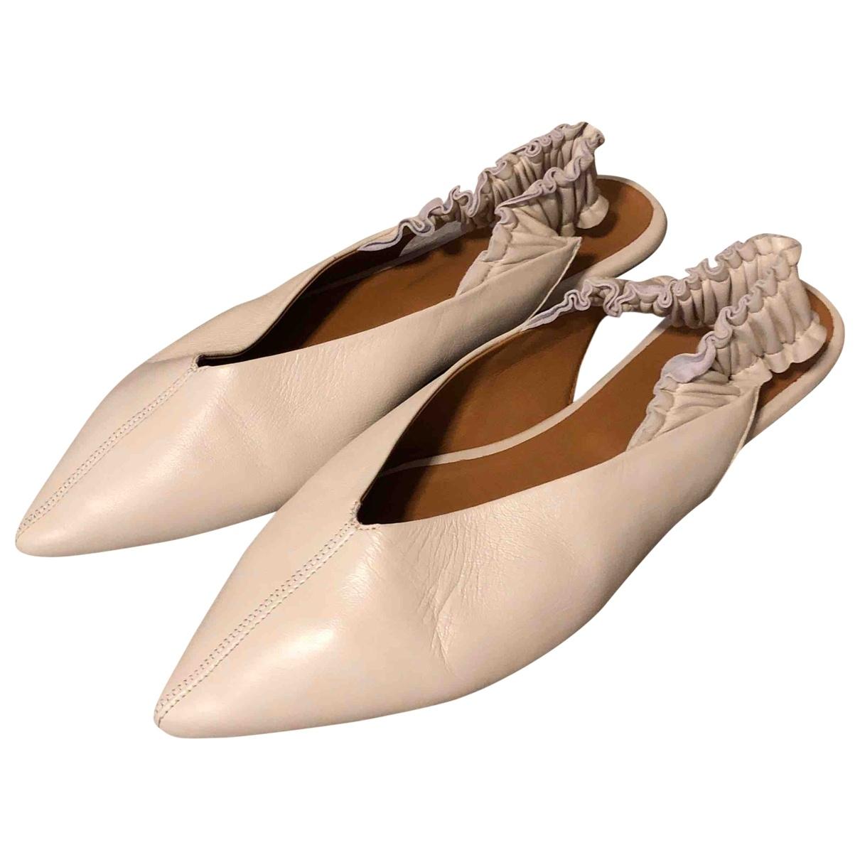 Bailarinas de Cuero Isabel Marant
