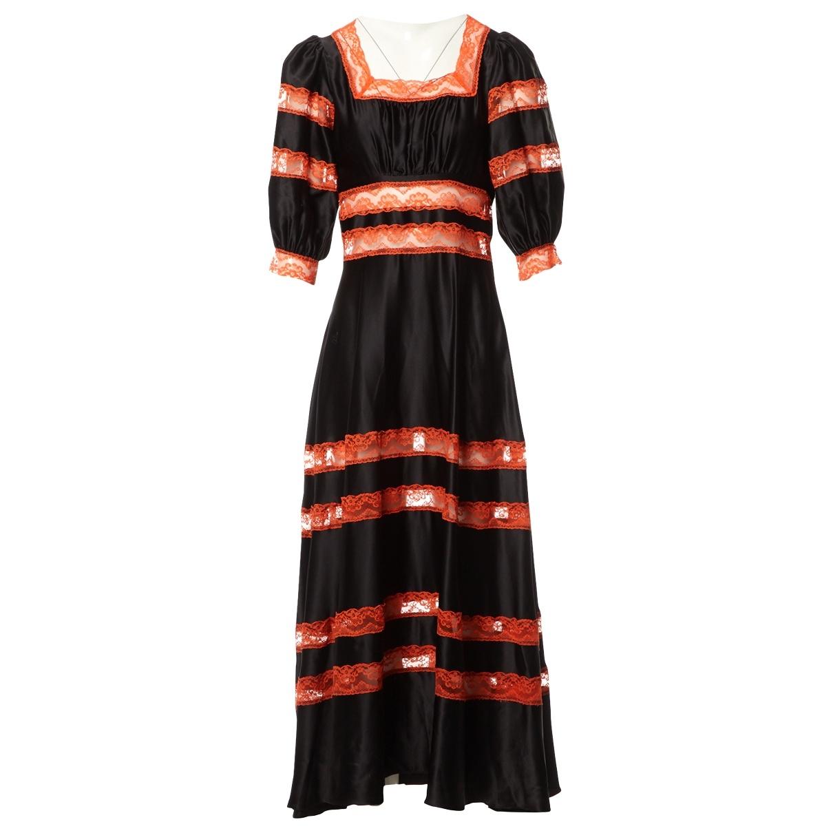 Maxi vestido de Seda Shrimps