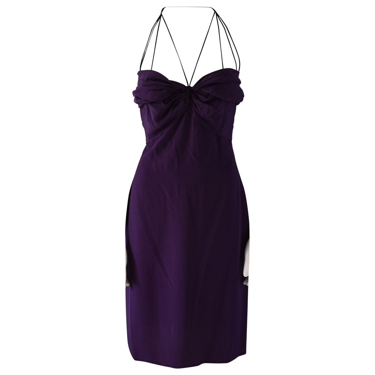 Gucci \N Purple Silk dress for Women 42 IT