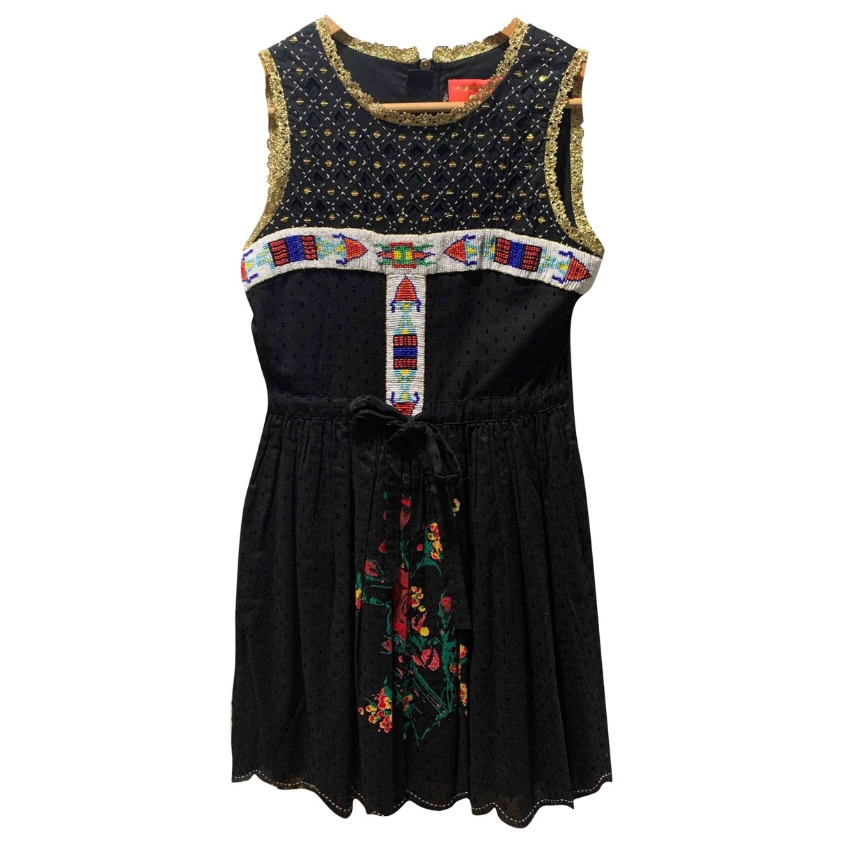 Manoush \N Black Cotton dress for Women 36 FR