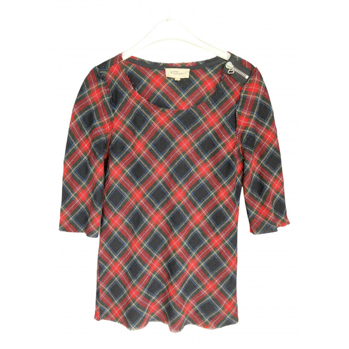 Isabel Marant Etoile - Top   pour femme en laine - multicolore