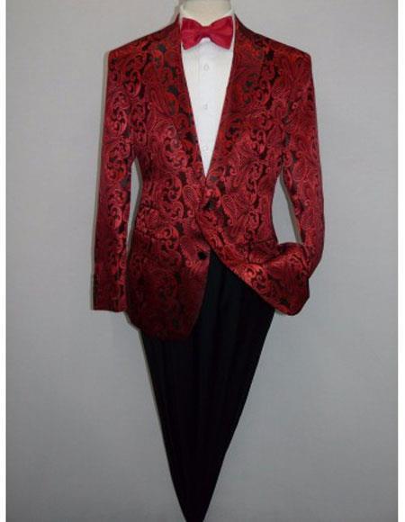 Mens Blazer Red(Wholesale Price $75 (20PC&UPMinimum))