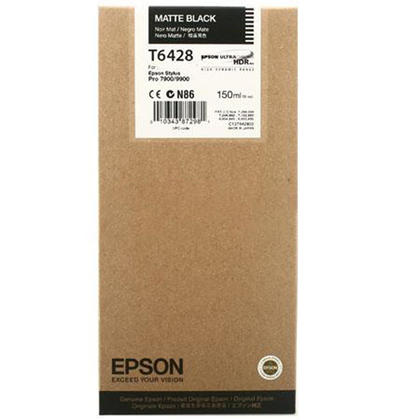 Epson T642800 Original Matte Black Ink Cartridge