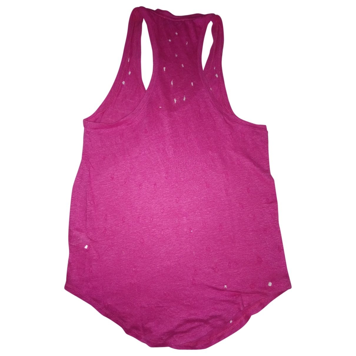 Iro - Top   pour femme en lin - rose