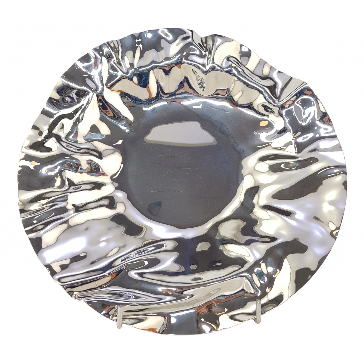 Alessi \N Tischkultur in  Silber Stahl