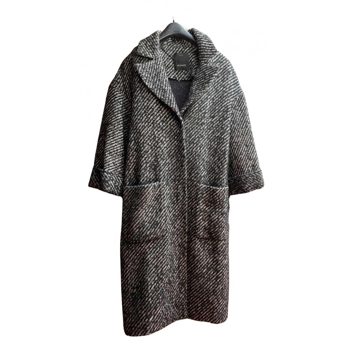 Pinko N Black Cotton coat for Women 38 IT
