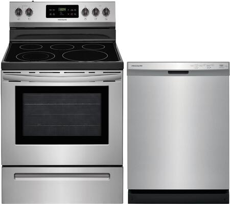 2 Piece Kitchen Appliances Package with FFEF3054TS 30