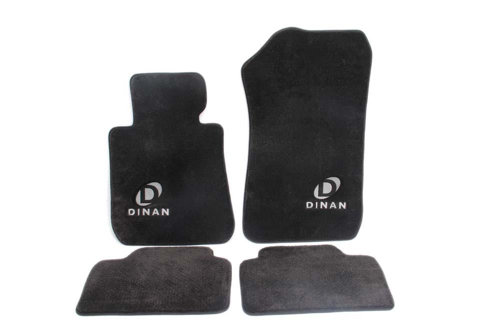 Dinan D701-DNBW2808-4C-BLK Signature Floor Mats - B