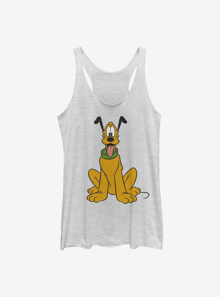 Disney Pluto Traditional Pluto Womens Tank Top