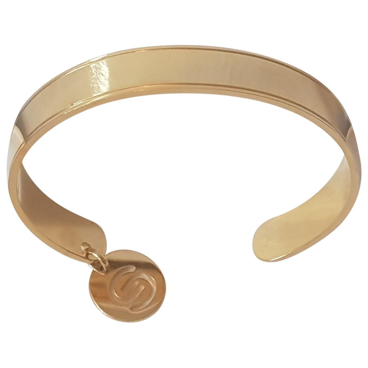 Elie Saab - Bracelet   pour femme en metal - dore