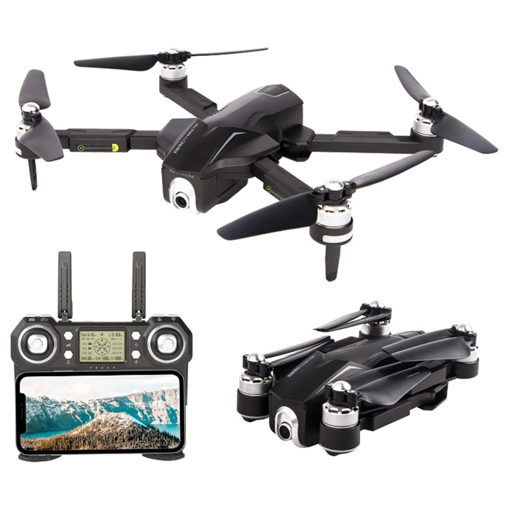 XMR/C M8 4K Brushless Foldable RC Drone RTF Two Batteries With Bag