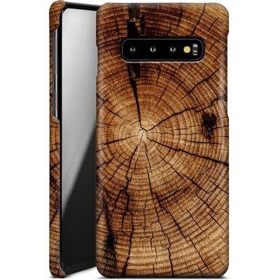 Samsung Galaxy S10 Smartphone Huelle - Tree Rings von caseable Designs