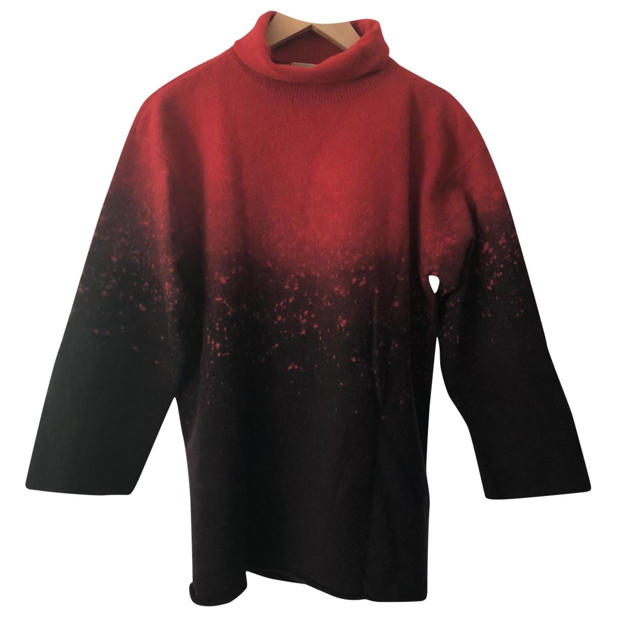 Issey Miyake \N Red Wool Knitwear for Women M International
