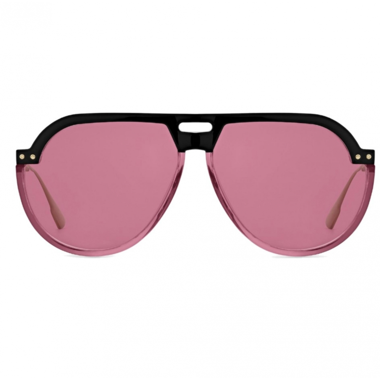 Dior Dior club 3 Pink Metal Sunglasses for Women N