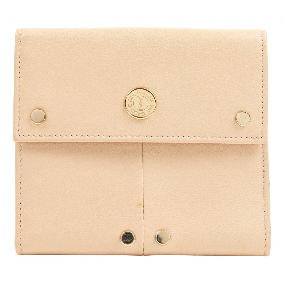 Yves Saint Laurent \N Kleinlederwaren in  Beige Leder
