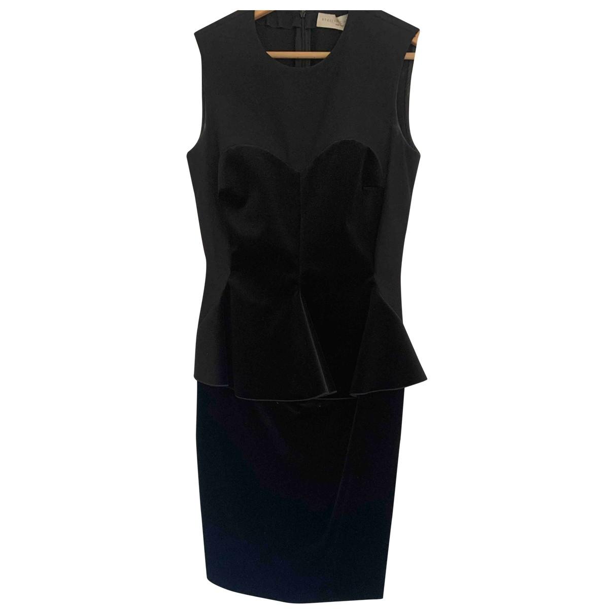 Stella Mccartney - Robe   pour femme en coton - noir
