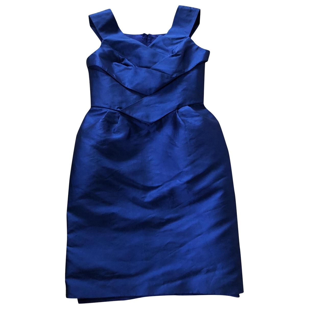 Dice Kayek \N Kleid in  Blau Polyester