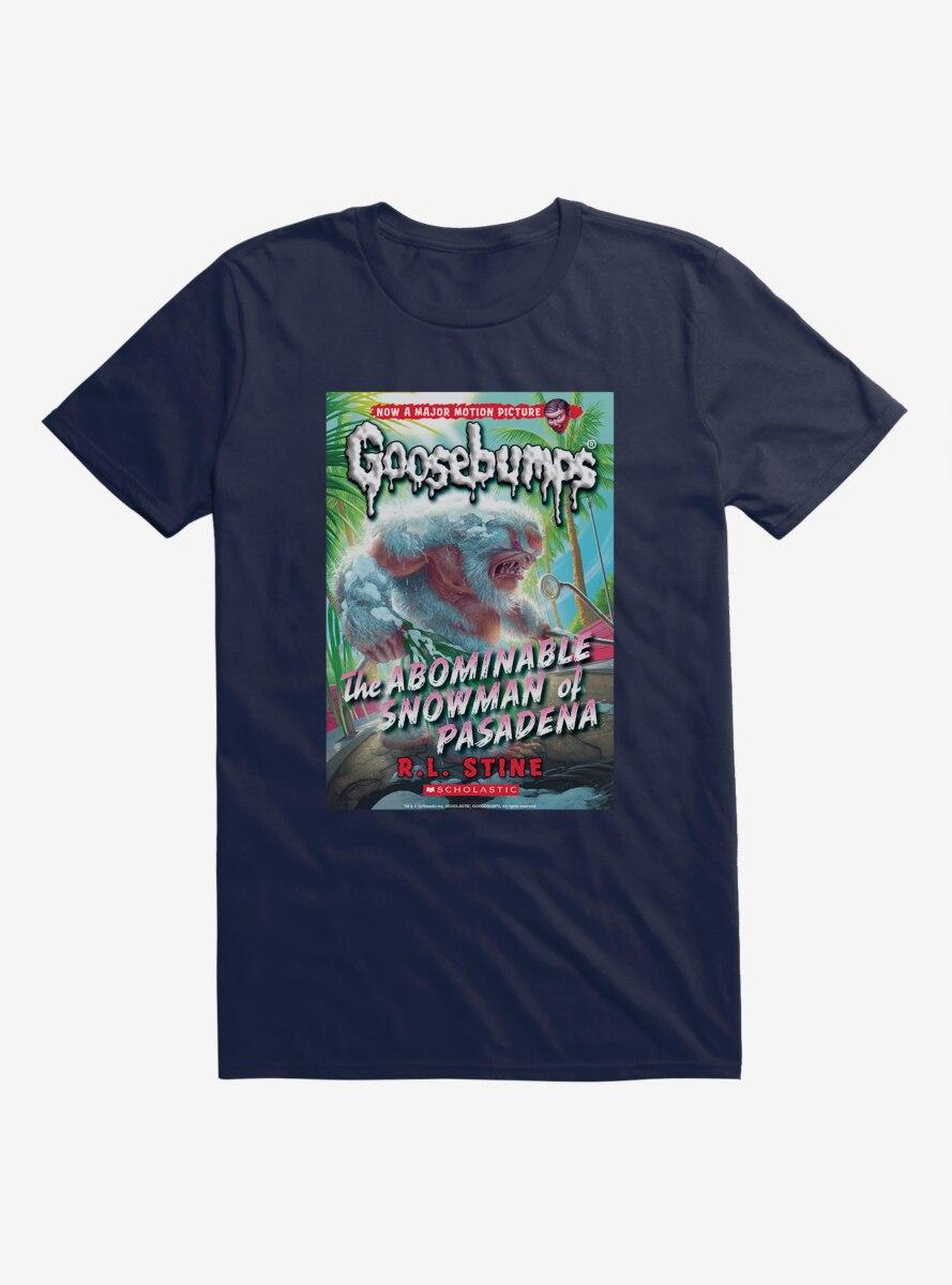 Goosebumps The Abominable Snowman Of Pasadena Book T-Shirt