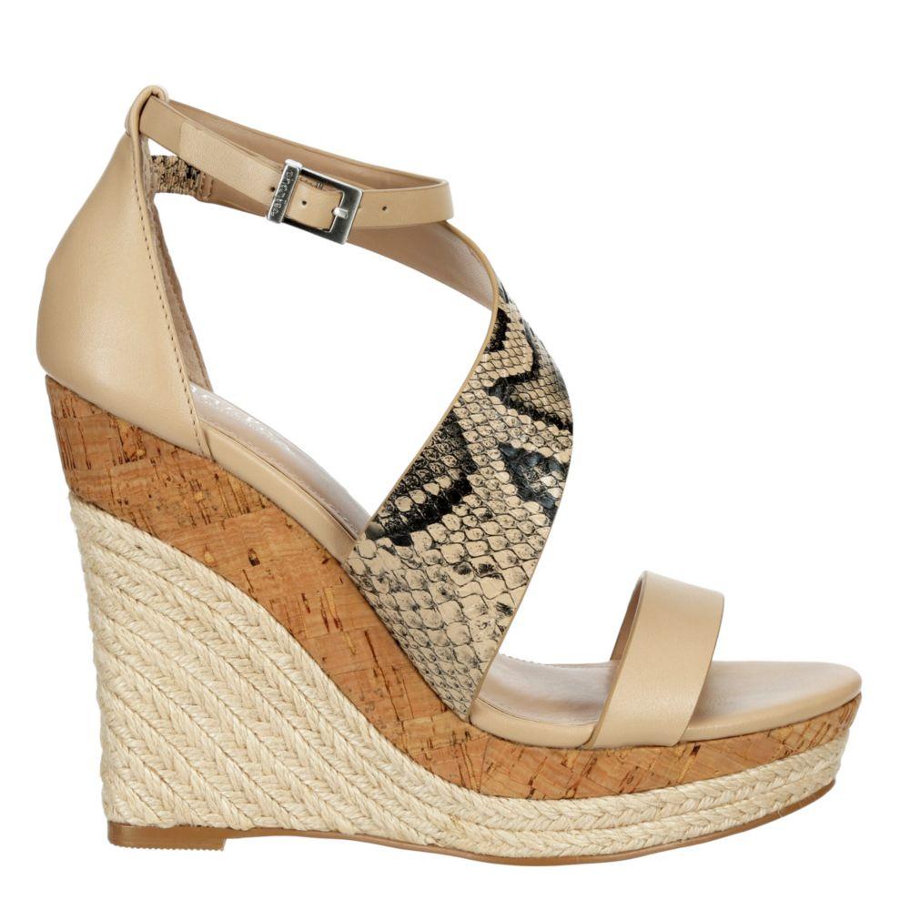 Charles By David Womens Aquaria Wedge Heel Sandals