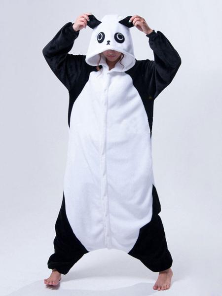 Milanoo Kigurumi Pajamas Panda Onesie For Adult Unisex Animal Costume Halloween