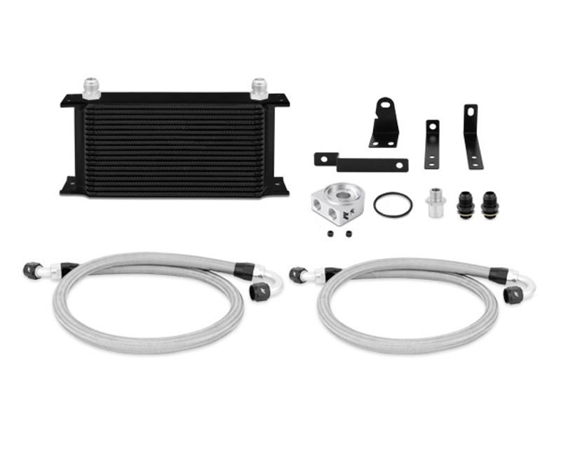Mishimoto MMOC-S2K-00BK Black Oil Cooler Kit Honda S2000 2.0L 00-03