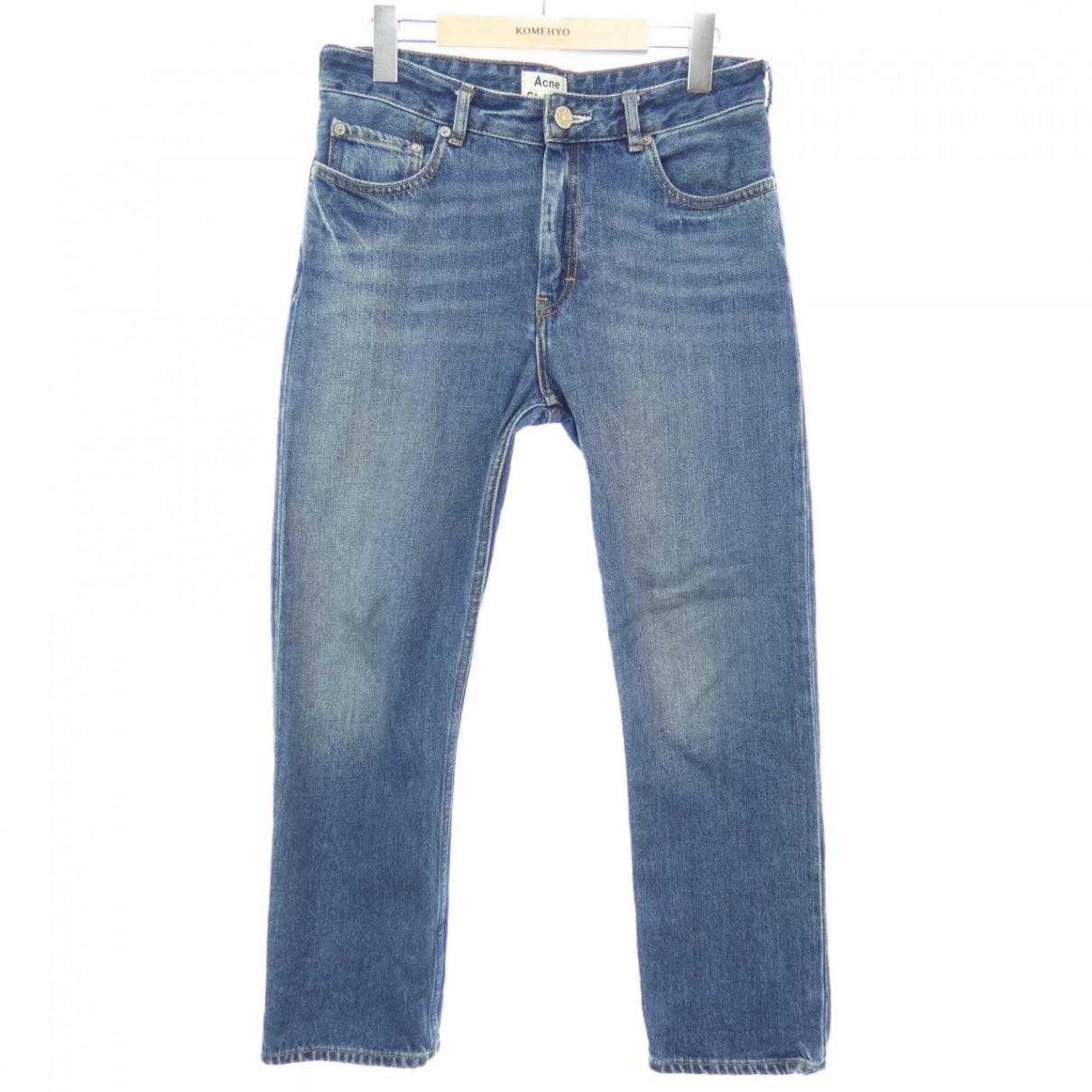 Acne Studios \N Jeans in  Blau Baumwolle