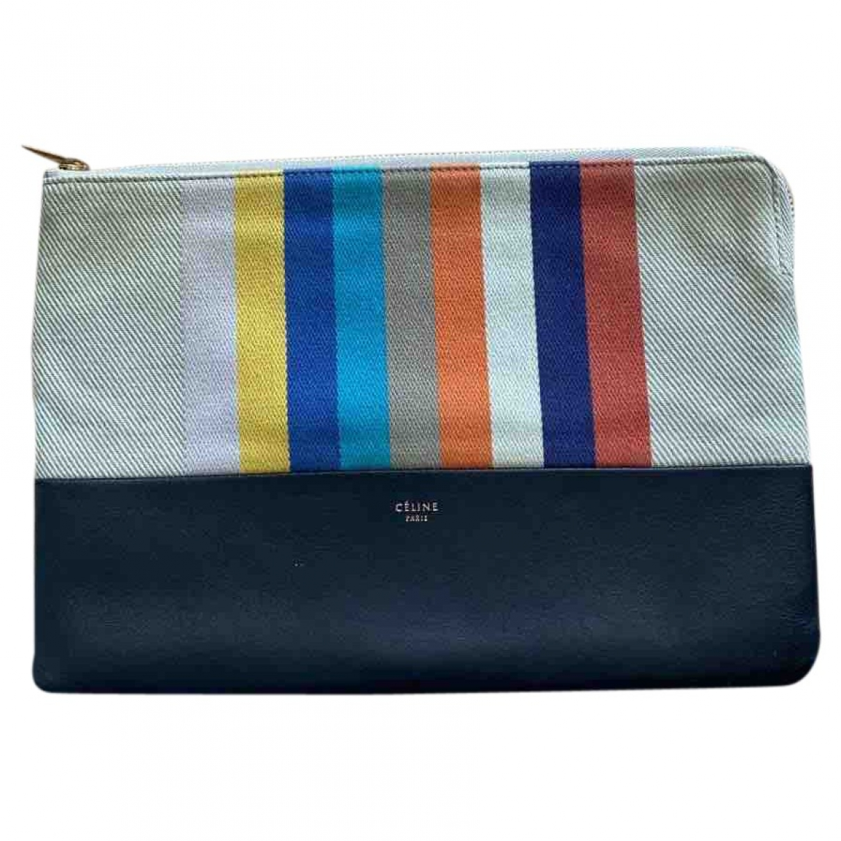 Celine \N Multicolour Cloth Clutch bag for Women \N