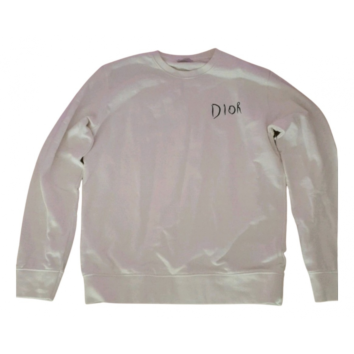 Dior Homme - Pulls.Gilets.Sweats   pour homme en coton - blanc