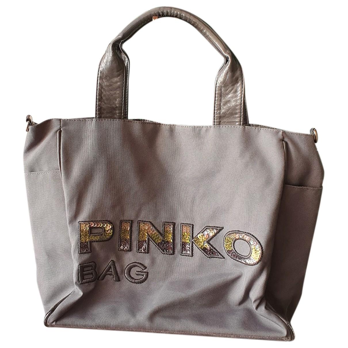 Pinko \N Grey handbag for Women \N
