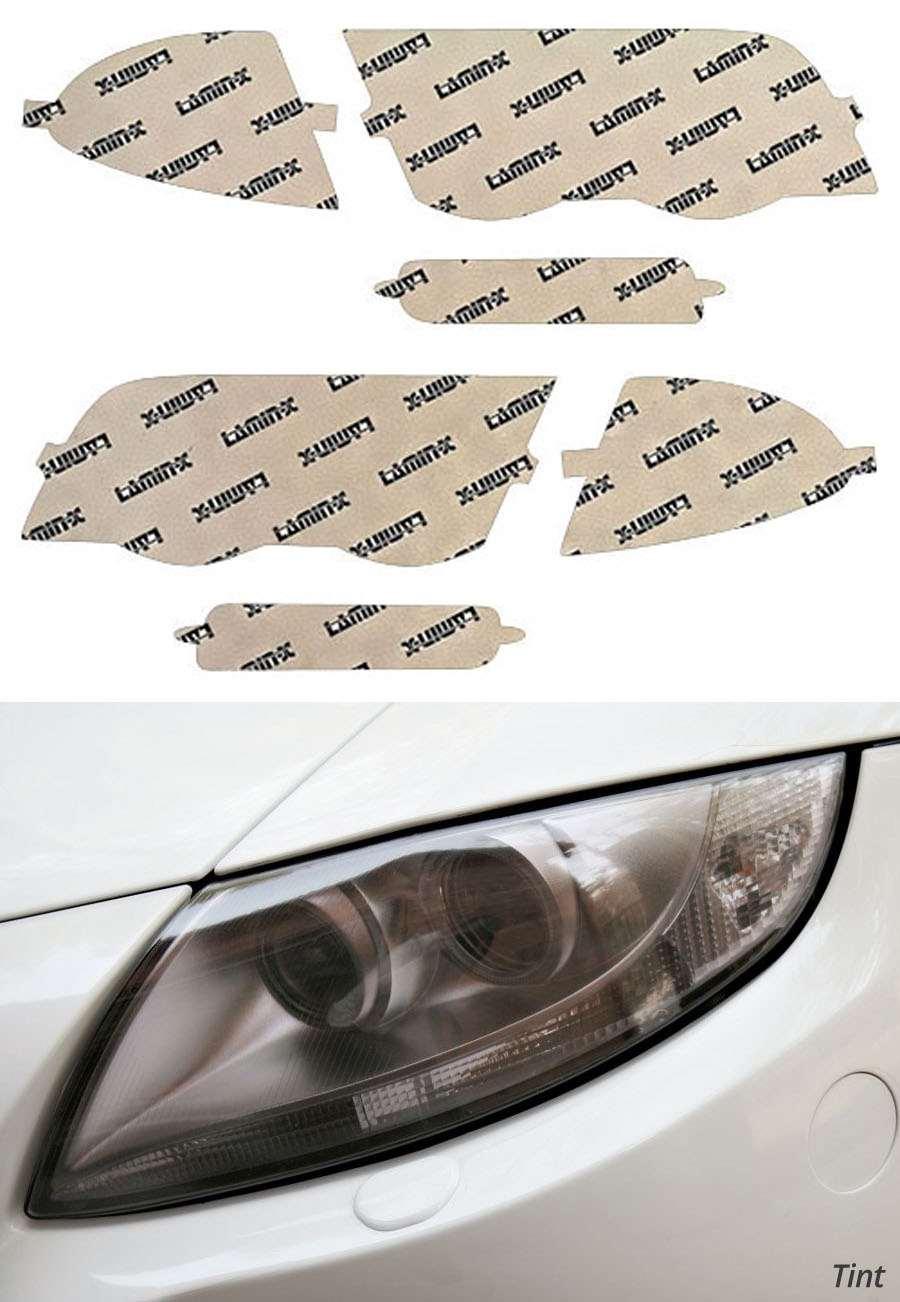 BMW 3-Series Sedan 99-01 Tint Headlight Covers Lamin-X B003T