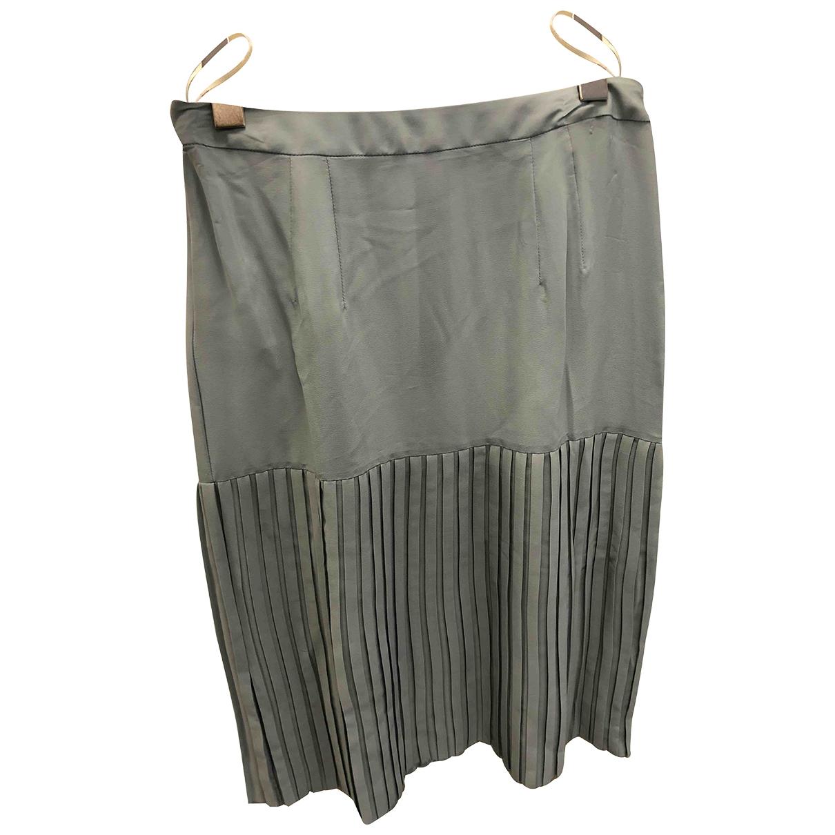 Falda midi de Seda Marni