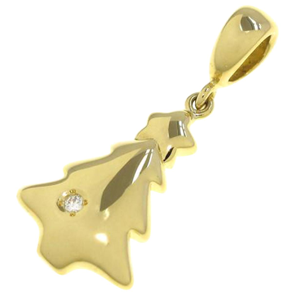 Mikimoto - Pendentif   pour femme en or jaune