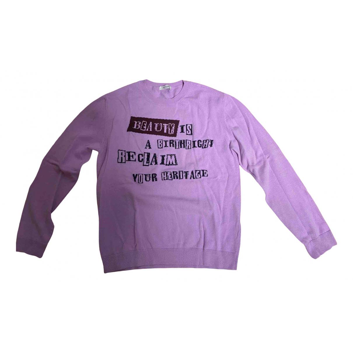 Valentino Garavani \N Pullover.Westen.Sweatshirts  in  Lila Wolle