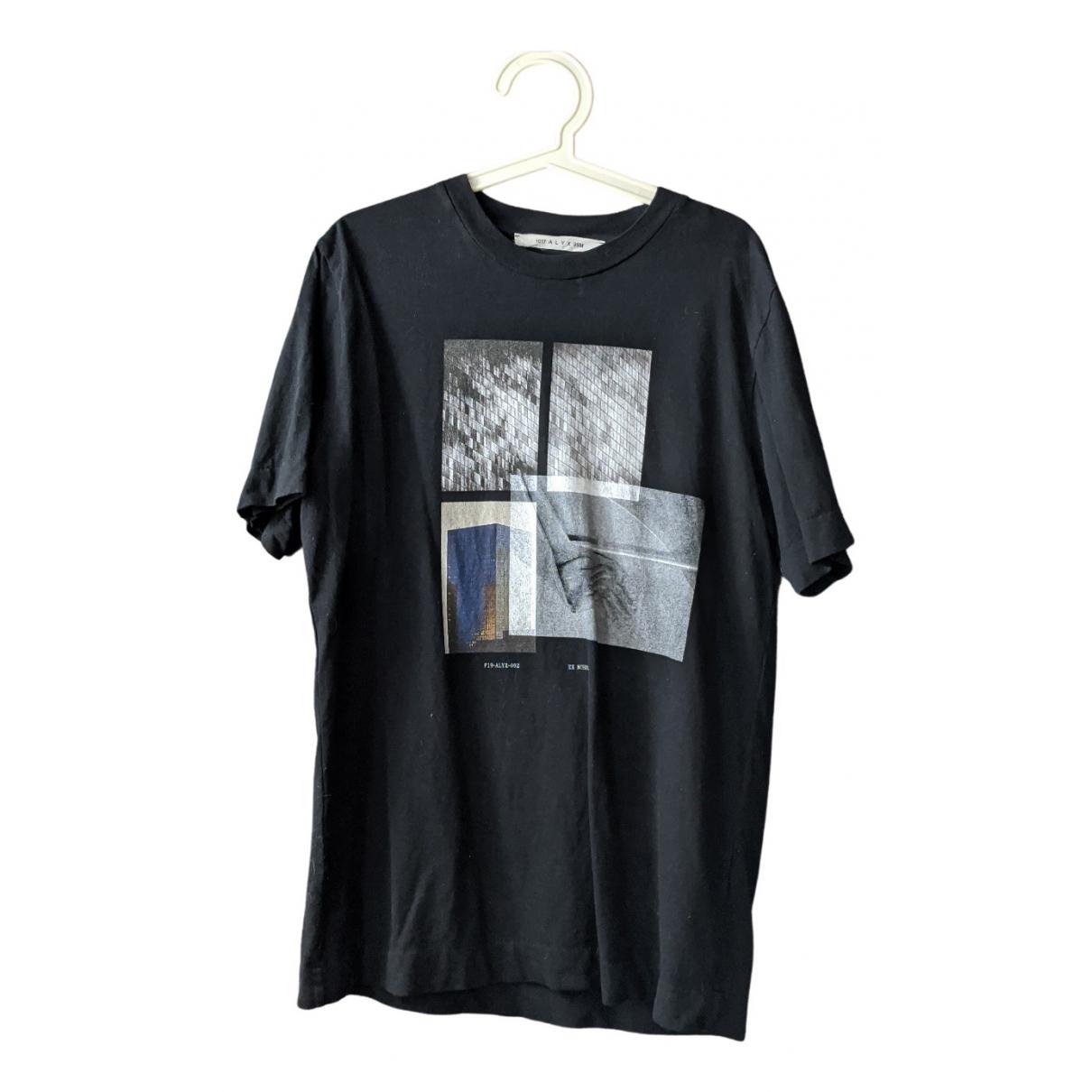 Alyx - Tee shirts   pour homme en coton - noir