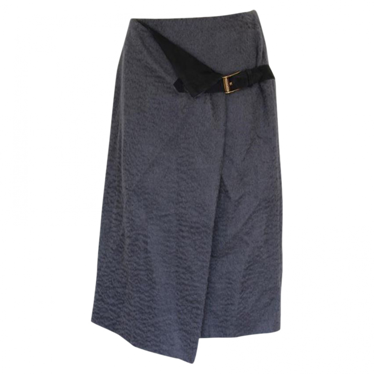 Trussardi - Jupe   pour femme en coton - gris