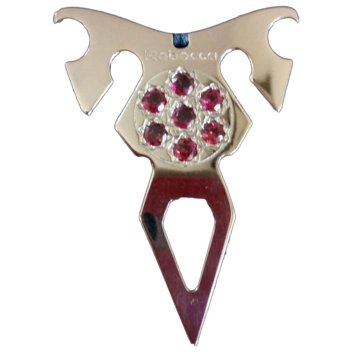 Rebecca N Purple Steel necklace for Women N