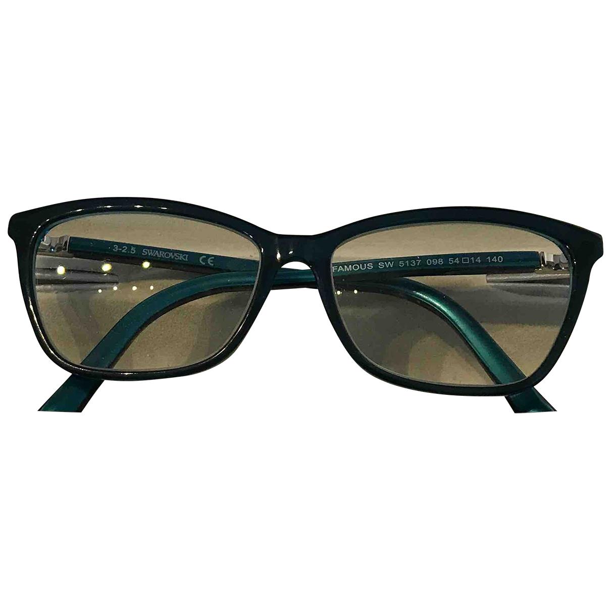 Swarovski - Lunettes   pour femme - turquoise