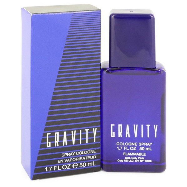 Coty - Gravity : Cologne Spray 1.7 Oz / 50 ml